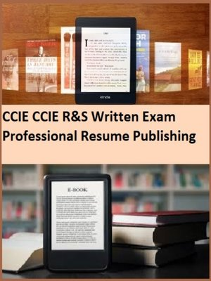 cover image of CCIE CCIE R&S Written Exam  Professional Resume Publishing