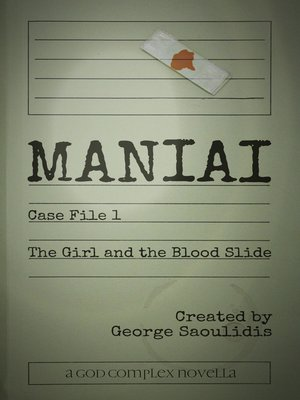 cover image of Maniai Case File 1
