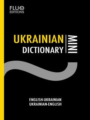 cover image of Ukrainian Mini Dictionary