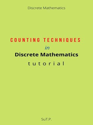 cover image of Counting Techniques in Discrete Mathematics tutorial