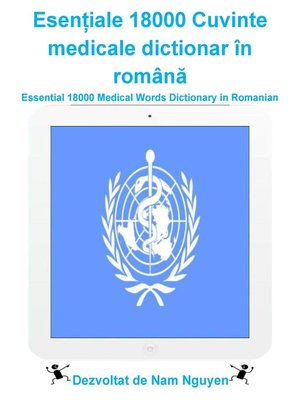 cover image of Esențiale 18000 Cuvinte medicale dictionar în română