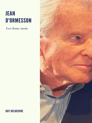 cover image of Jean d'Ormesson