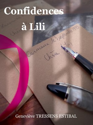 cover image of Confidences à Lili
