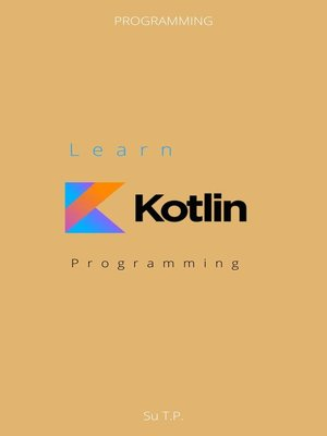 cover image of Learn Kotlin Programming