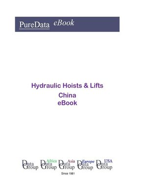 cover image of Hydraulic Hoists & Lifts in China