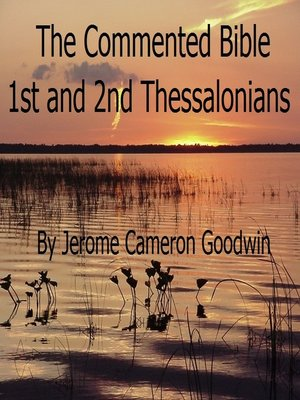 cover image of 1st and 2nd Thessalonians
