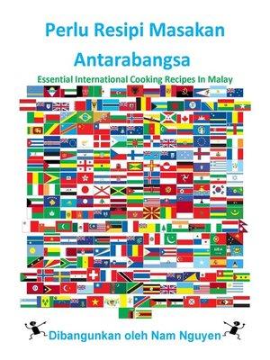 cover image of Perlu Resipi Masakan Antarabangsa