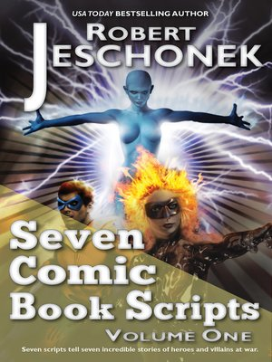 cover image of Seven Comic Book Scripts Volume One