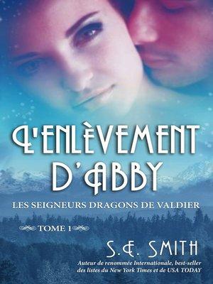 cover image of L'enlèvement d'Abby