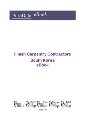 cover image of Finish Carpentry Contractors in South Korea