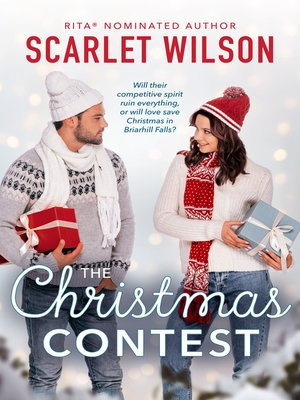 cover image of The Christmas Contest