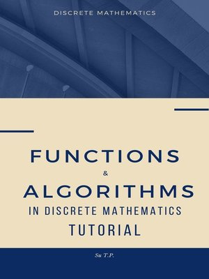 cover image of Functions & Algorithms in Discrete Mathematics Tutorial
