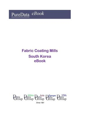 cover image of Fabric Coating Mills in South Korea