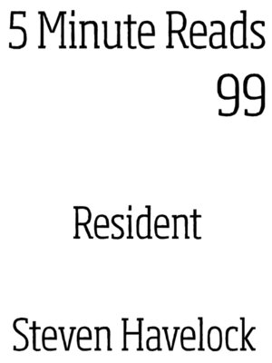 cover image of Resident