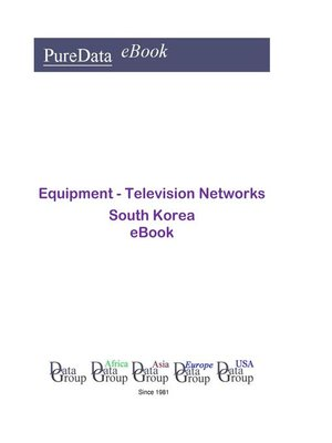 cover image of Equipment--Television Networks in South Korea