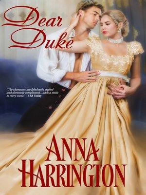 cover image of DEAR DUKE