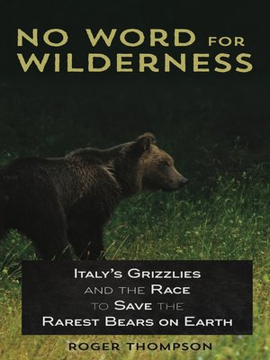 cover image of No Word for Wilderness