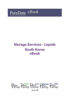 cover image of Storage Services--Liquids in South Korea
