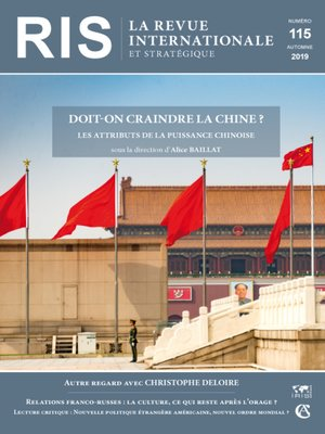 cover image of Doit-on craindre la Chine ?