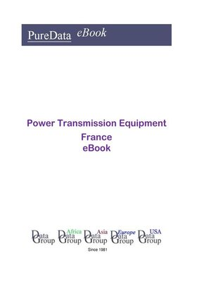 cover image of Power Transmission Equipment in France