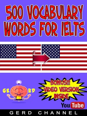 cover image of 500 Vocabulary words for IELTS