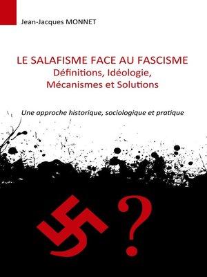 cover image of Le salafisme face au fascisme