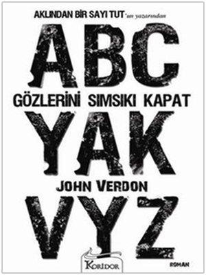 cover image of Gözlerini Sımsıkı Kapat -John Verdon