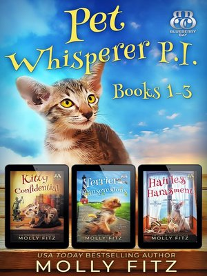 cover image of Pet Whisperer P.I. Books 1-3 Special Boxed Edition