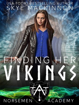 cover image of Finding her Vikings