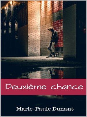cover image of Deuxième chance