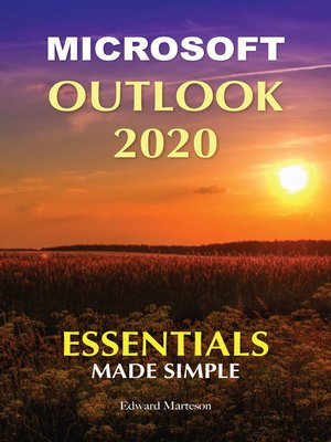 cover image of Microsoft Outlook 2020