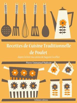 cover image of Recettes de Cuisine Traditionnelle de Poulet