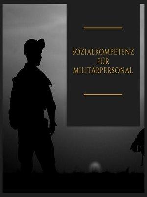 cover image of Sozialkompetenz für Militärpersonal
