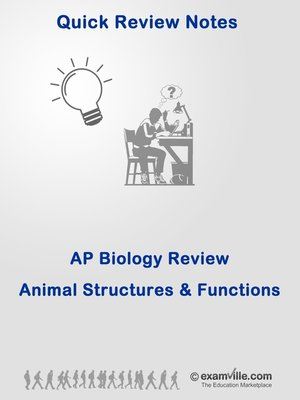 cover image of AP Biology--Animal Structures and Functions