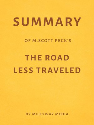 cover image of Summary of M. Scott Peck's the Road Less Traveled