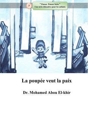 cover image of La poupée veut la paix