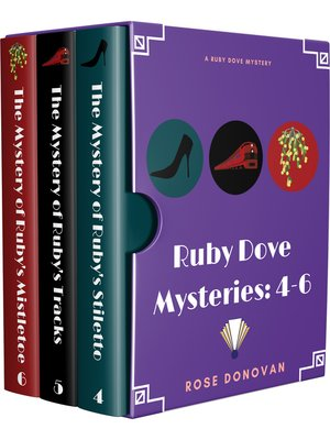 cover image of Ruby Dove Mysteries Box Set