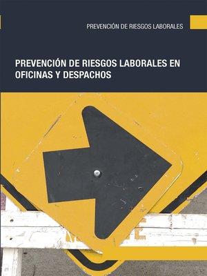 cover image of Prevención de riesgos laborales en oficinas y despachos