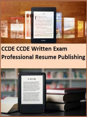 cover image of CCDE CCDE Written Exam Professional Resume Publishing
