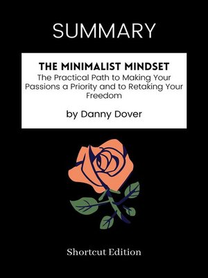cover image of SUMMARY--The Minimalist Mindset