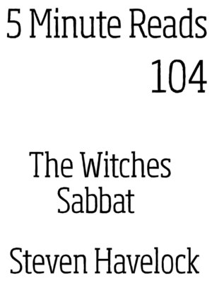 cover image of The Witches Sabbat