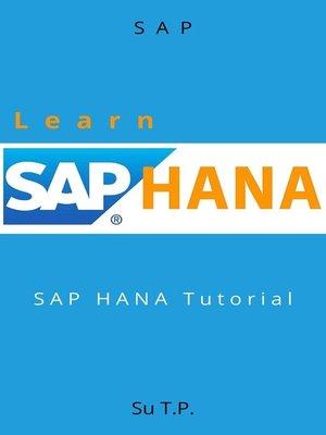 cover image of Learn SAP HANA