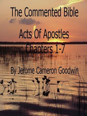 cover image of Acts of Apostles Chapters 1-7