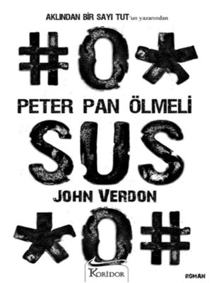 cover image of Peter Pan Ölmeli -John Verdon
