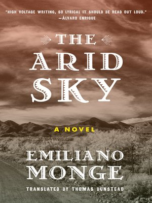 cover image of The Arid Sky