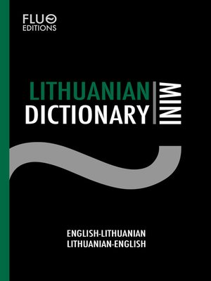 cover image of Lithuanian Mini Dictionary