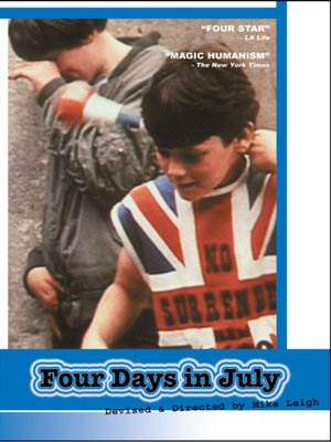 cover image of 4 Days in July