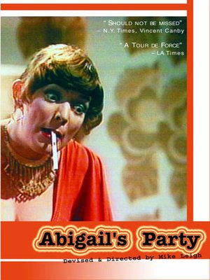 cover image of Abigail's Party