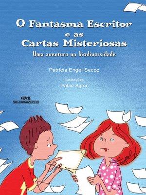 cover image of O Fantasma Escritor e as Cartas Misteriosas