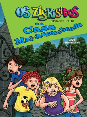 cover image of Os Ziskisitos e a Casa Mal Assombrada